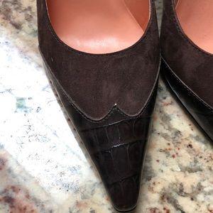Women's heels. Circa Joan & David. Brown. Size 7M